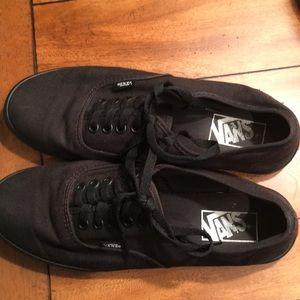 Vans Classic All Black Sneakers